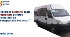 CJ Prahova cere operatorilor de transport judeţean să coboare tarifele înapoi