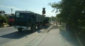 Lucrări susţinute pentru extinderea canalizării comunei Păuleşti, în satul Găgeni