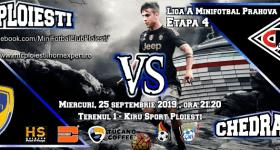 La concurență cu… Cupa României la fotbalul de pe teren mare, cele mai bune echipe de minifotbal din Prahova se duelează la baza lui Chiriță! MFC are sponsor nou!
