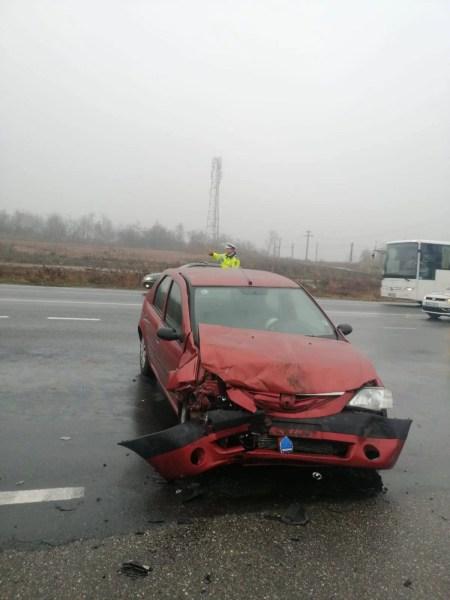 Nou accident produs de un TIR pe DN1