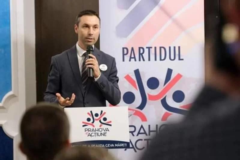 Mihai Apostolache, ales preşedinte al Partidului Prahova în Acţiune