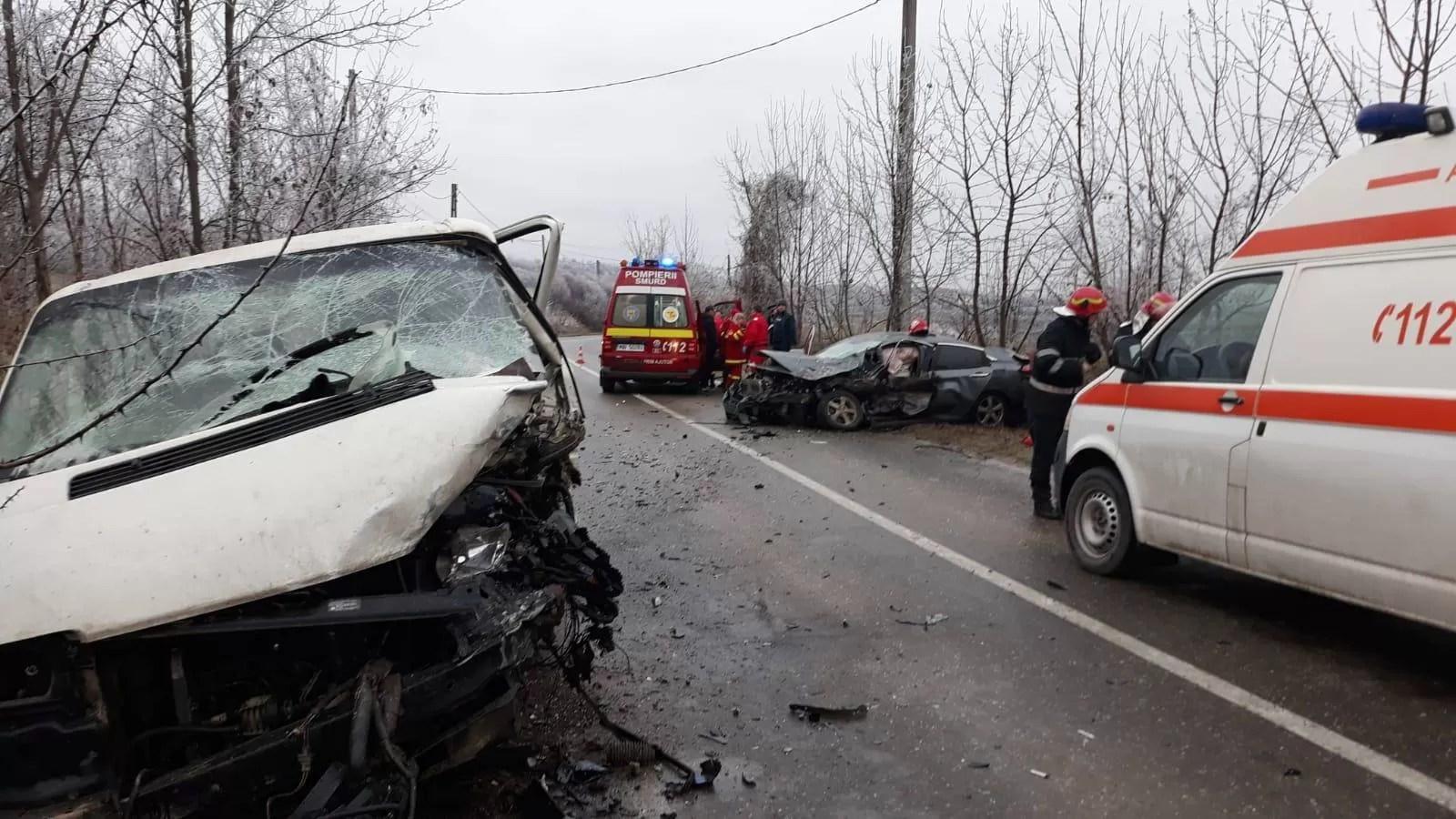 Ajutorul şefului postului de Poliţie Gornet, rănit grav în accident rutier