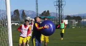 """Prim cantonament în Turcia al """"lupilor"""", caracterizat de cifra 3: trei din trei victorii posibile, două succese cu trei goluri marcate și numai trei goluri primite în total!"""