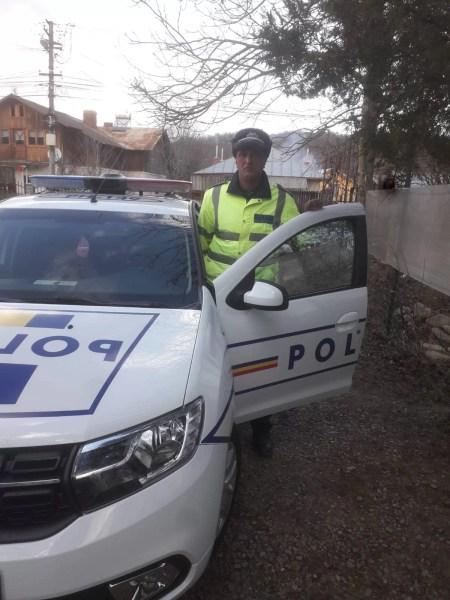 Poliţist din comuna Vărbilău, omul potrivit, la locul potrivit