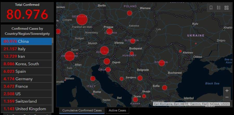 România a intrat în Scenariul 3, după al 100-lea caz de coronavirus