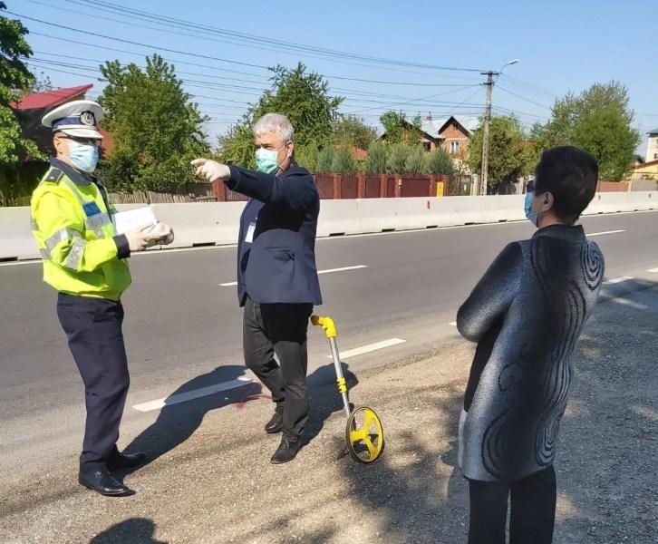 Cetăţenii din Bărcăneşti vor avea la dispoziţie 3 treceri de pietoni pe DN1