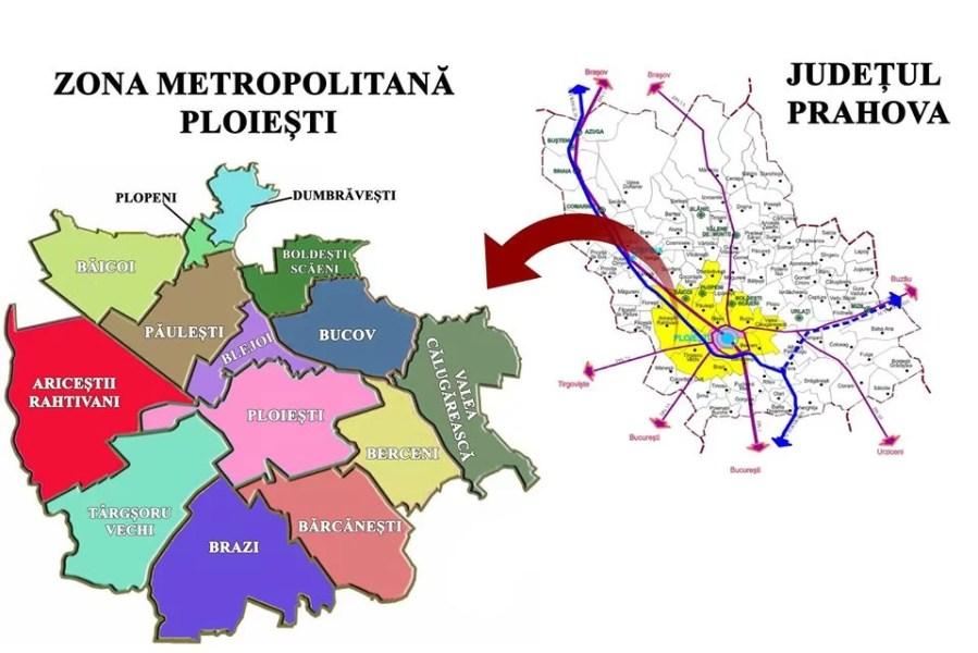 Se circulă fără declarație scrisă în interiorul Zonei Metropolitane Ploiești