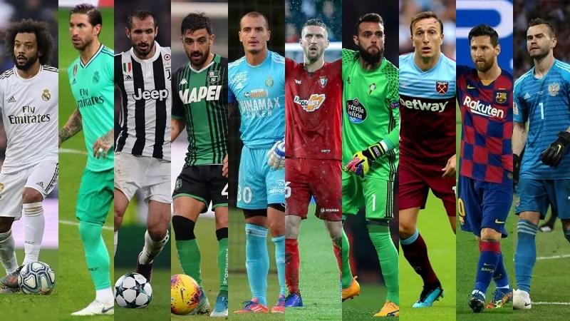 Cei mai loiali 10 fotbaliști din primele 5 campionate ale Europei