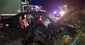 Accident pe DN1 cu 4 tineri răniţi ajunşi la spital