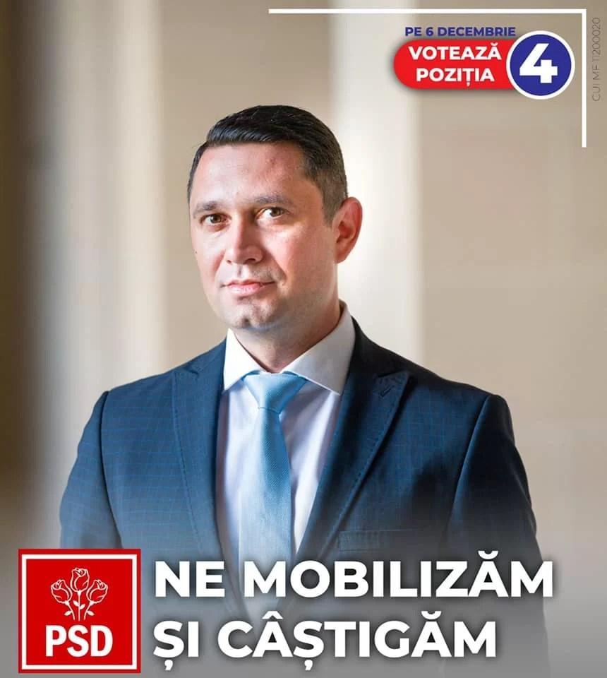 """Bogdan Toader, președinte PSD Prahova: """"Votați pentru siguranța unui trai mai bun"""""""