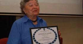 Legendara profesoară Olga Petrescu sărbătorește a 85-a aniversare, împreună cu România