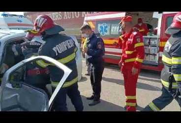 Imagini cu puternic impact emoțional de la accidentul de azi dimineață pe DN1 – Păulești