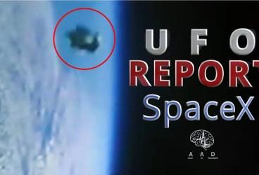 UFO Report 4 – OZN langa racheta SpaceX – Falcon 9