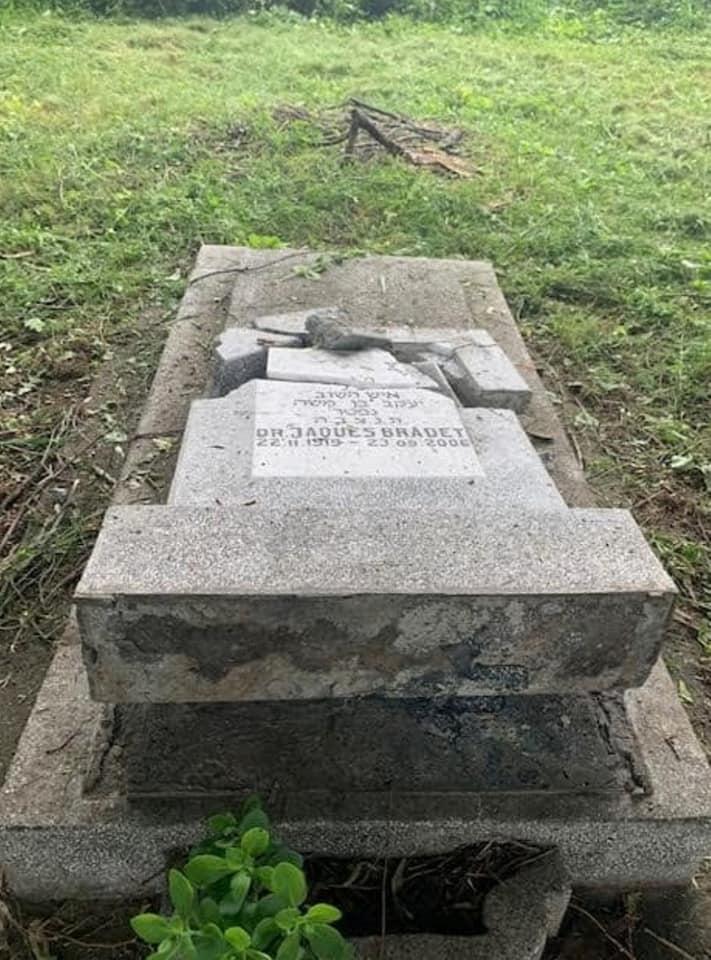 Reacția Maiei Morgenstern la profanarea Cimitirului Evreiesc din Ploiești