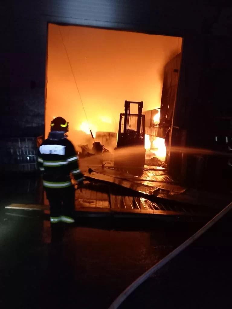Au fost stabilite cauzele incendiului de la EcoBurn Brazi