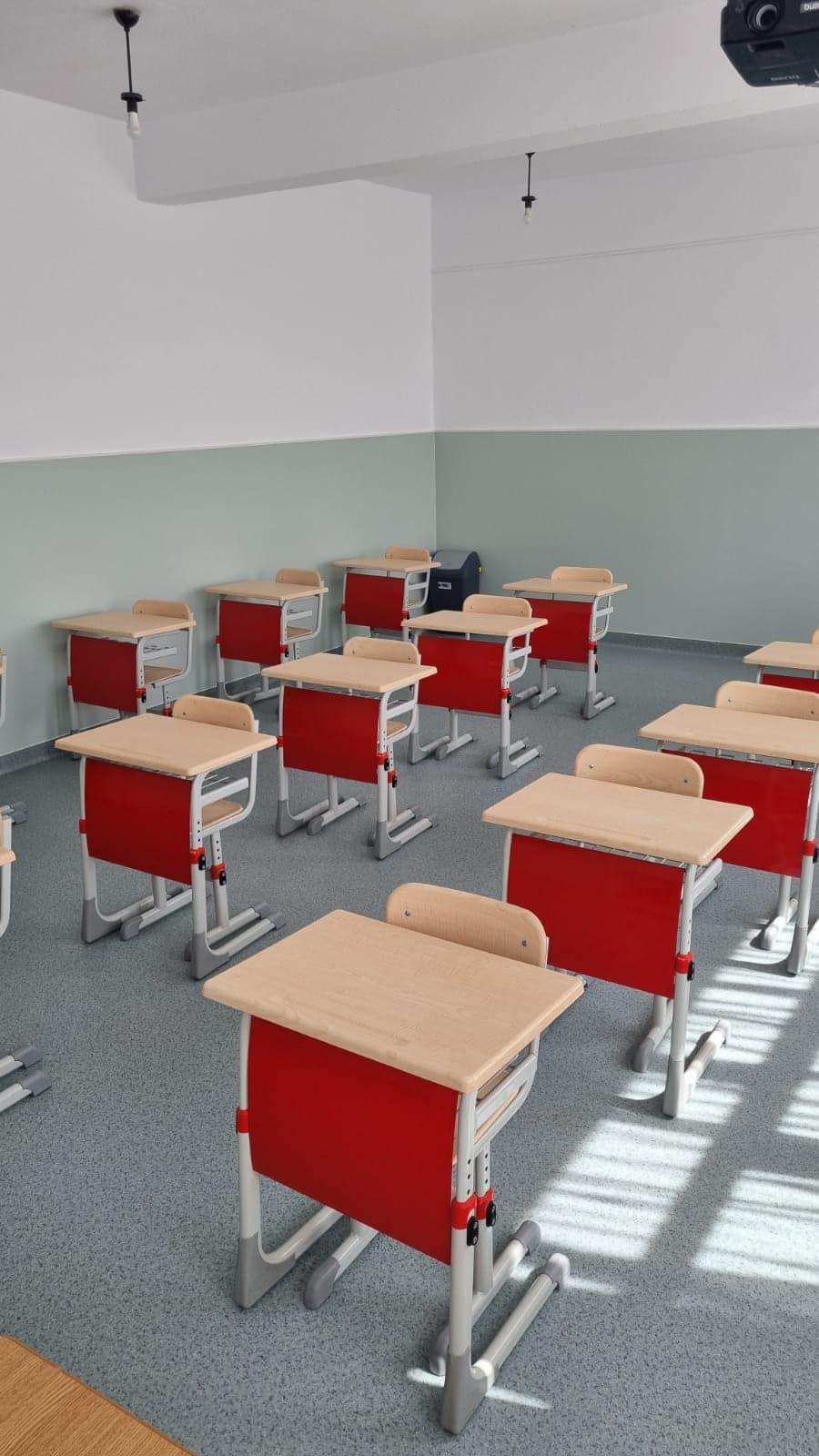 Anul școlar a început cu renovări și modernizări, la Filipeștii de Pădure