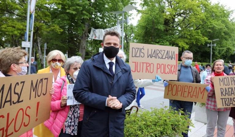 Trzaskowski goni Dudę, a to dopiero dwa tygodnie pre kampanii.