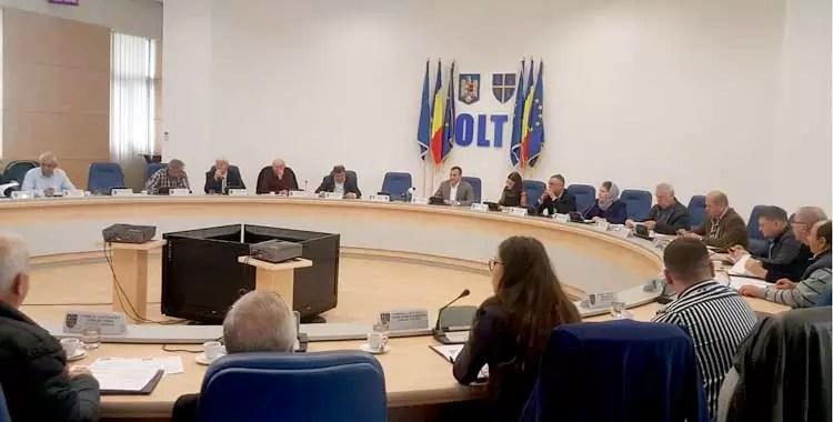 CJ Oltr aprobare buget 2019