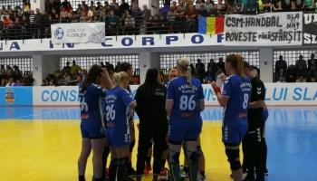 "csm Handbal Feminin: Liga Florilor, etapa a XVIII-a CSM Slatina – ""U"" Cluj 31:27 (17:12)"
