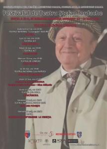"""Festivalul de Teatru """"Ștefan Iordache"""", la a IX-a ediție"""