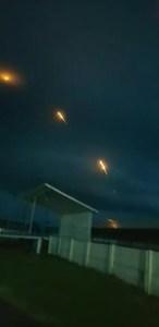 Au fost lansate 28 de rachete la Vișina și Cilieni