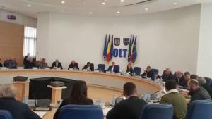 O nouă ședință la Consiliul Județean Olt