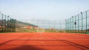 Teren de sport multifuncțional în comuna Poboru