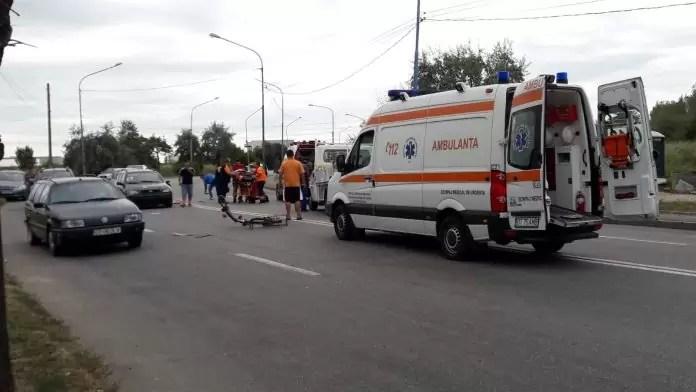 accident biciclist pirelli
