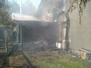 Incendiu devastator în Scornicești