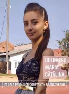 """Olteanca Dulgheru Maria Cătălina, câştigătoarea bursei """"Nawaf Salameh"""""""