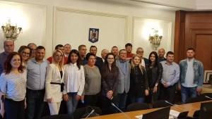 Echipa de online a PSD Olt, în Parlament