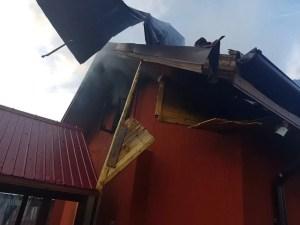 Incendiu la Balş