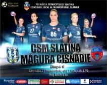 Sâmbătă, handbalistele slătinene vor primi vizita grupării Măgura Cisnădie