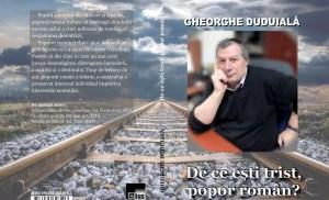 """Gheorghe Duduială lansează la Slatina volumul """"De ce eşti trist, popor român?"""""""