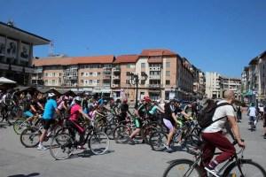 Parada bicicliştilor corăbieni