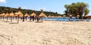 Se închide Plaja Olt