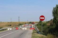 Se reia traficul pe podul din Găneasa