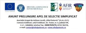 ANUNT PRELUNGIRE APEL DE SELECTIE SIMPLIFICAT