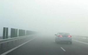 Avertizare meteo - Cod galben de ceaţă în șapte judeţe