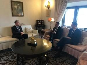 Întâlnire importantă între Alteța Sa Regală Principele Radu  şi Liviu Voiculescu şi Mario De Mezzo