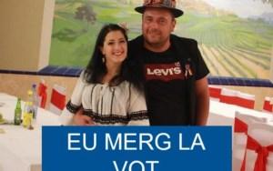 O slătineancă a votat cu cântec, în Spania
