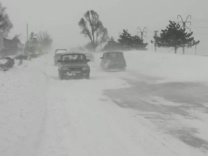 ALERTĂ METEO de ninsori abundente în Olt