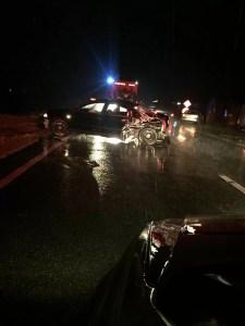 Mai multe persoane implicate într-un accident rutier