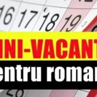 Luna noiembrie se termină cu o minivacanță pentru angajați