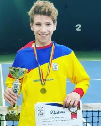 Călin Știrbu este noul campion național la tenis de câmp U14