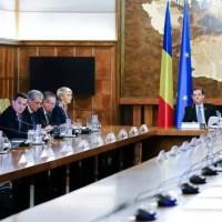 Şedinţă de Guvern - S-au adoptat cinci ordonanţe de urgenţă