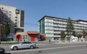 Patru secții de la Spitalul Județean de Urgență sunt închise pentru vizitatori