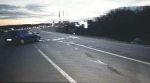 Accident rutier soldat cu două victime