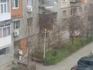 Dezinfectarea scărilor de bloc este în toi, la Slatina