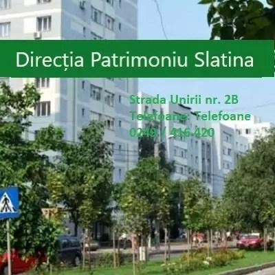 Directia Patrimoniu Slatina 1